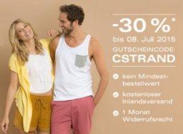 Ebay: Gutschein für 30 Prozent Rabatt auf Sommermode