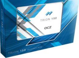 Ebay: SSD OCZ Trion 150 mit 240 GByte für 55 Euro frei Haus
