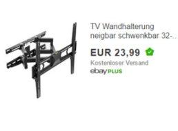 Ebay: Vesa-TV-Halterung neigbar und schwenkbar für 23,99 Euro