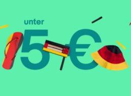 Ebay: WM-Fanartikel für weniger als fünf Euro frei Haus