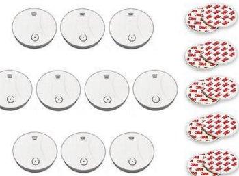 Ebay: Zehnerpack Rauchmelder mit Drei-Jahres-Batterien für 59,99 Euro