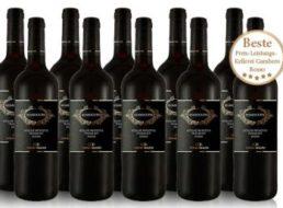 Ebrosia: Zehn Flaschen Torrevento Merlot Primitivo für 39,99 Euro frei Haus
