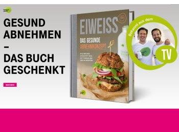 """Gratis: Buch """"Eiweiss - Das gesunde Abnehmkonzept"""" für 0 statt 14,95 Euro"""