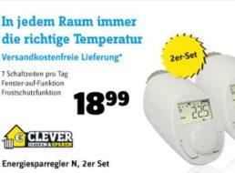 Conrad: Heizkörperthermostat-Set eQ-3 für 18,99 Euro frei Haus