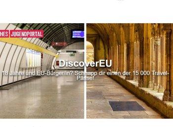 Gratis: EU-Travelpass für 15.000 Nutzer im Alter von 18 Jahren