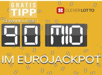 Euro-Jackpot: Tippen auf den Rekord-Jackpot ab 0 Euro möglich