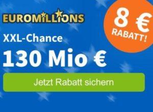 EuroMillions: Gratis-Spiel zur Sonderziehung für Neukunden, Rabatt für Bestandskunden
