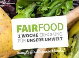 Gratis: Fairfood-Kochbuch mit regionalen / veganen Rezeptideen