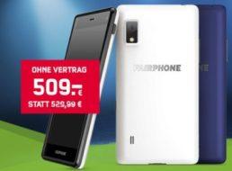 """Mobilcom: """"Fairphone 2"""" zum Bestpreis von 509 Euro bis Mittwoch"""
