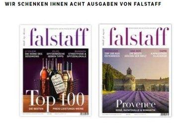 """Gratis: Acht Ausgaben von """"Falstaff"""" zum Nulltarif frei Haus"""