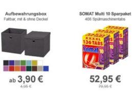 Allyouneed: Faltbare Aufbewahrungsbox für 3,90 Euro frei Haus