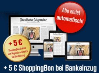 FAZ Plus: Monatsabo mit automatischem Ende für effektiv 99 Cent