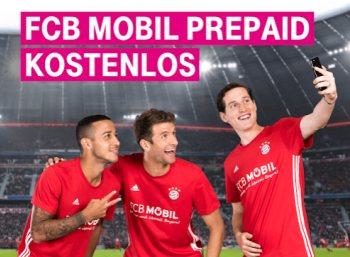 Gratis: FCB-Mobil-Prepaidkarte mit 20 Euro Guthaben geschenkt