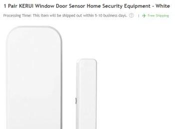 Rosegal: Fenstersensor / Türensensor für 99 Cent frei Haus