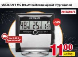 Völkner: Luftfeuchtemessgerät für elf Euro frei Haus