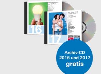 Finanztest: 3 Ausgaben für 9,90 Euro inklusive CD-Jahresarchiv 2017 & 2016