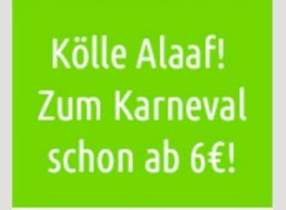 Flixbus: Karnevals-Tickets ab 5 Euro, mit Dr. Oetker ab 2 Euro