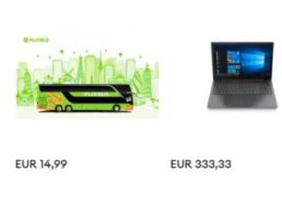 Ebay: Flixbus-Europatickets für pauschal 14,99 Euro frei Haus