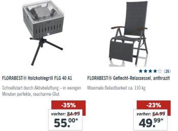 Lidl: Holzkohlegrill mit Aktivbelüftung und Standfuß für 50 Euro frei Haus