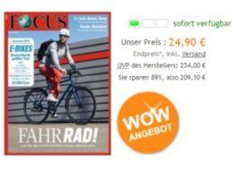 Focus: Jahresabo zum Direktpreis von 24,90 Euro