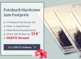 Pixelnet: Hardcover-Fotobuch mit 100 Seiten für 15 Euro frei Haus