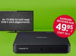 Freenet TV: Vier Gratis-Monate DVB-T2 und Schnäppchen-Receiver