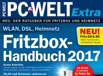 Gratis: Fritbox-Handbuch 2017 bei PC-Welt zum Nulltarif
