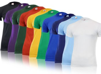 Fruit of the Loom: T-Shirts im Zehnerpack für 21,99 Euro frei Haus