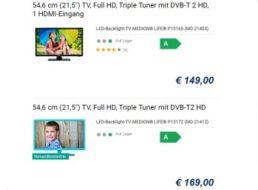 Exklusiv: Full-HD-TVs mit DVB-T2, Sonder-Rabatt und Gratis-Beigabe
