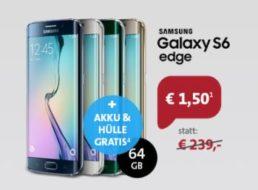 Sparhandy: Samsung Galaxy S6 mit Vodafone-LTE-Vertrag
