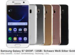 Ebay: Samsung Galaxy S7 als B-Ware für 119,90 Euro