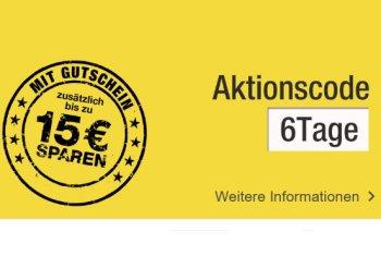 Galeria Kaufhof: Bis zu 15 Euro Rabatt beim neuen Sechs-Tage-Rennen