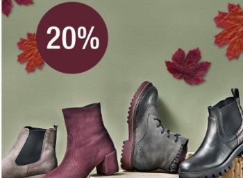 Galeria Kaufhof: 20 Prozent Schuh-Rabatt bis kommenden Dienstag