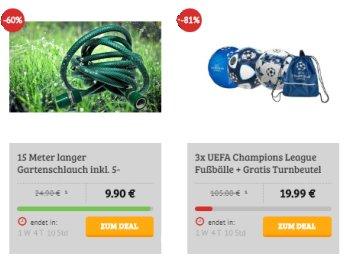 Dealclub: Gartenschlauch mit Bewässerungsset für 9,90 Euro frei Haus