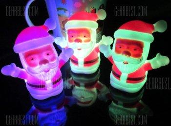 Gadget: LED-Mini-Santa für 1,34 Euro frei Haus bei Gearbest