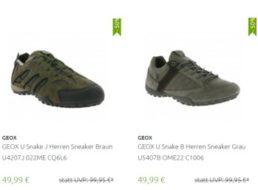Outlet46: Atmungsaktive Schuhe von Geox ab 49,99 Euro frei Haus