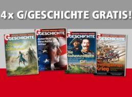 Geschichte: Vier Ausgaben des Magazins für zusammen vier Euro frei Haus