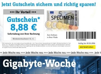 Conrad: GByte-Woche mit 8,88 Euro Extra-Rabatt auf SSDs und mehr