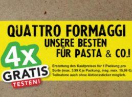 Gratis: Käse von Giovanni Ferrari im Wert von 16 Euro dank Cashback zum Nulltarif