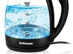 Druckerzubehoer.de: Glas/Edelstahl-Wasserkocher für 12,94 Euro frei Haus