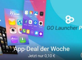 """Android: """"Go Launcher Prime"""" zum symbolischen Preis von zehn Cent"""
