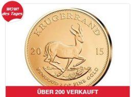 Ebay: Krügerrand-Münze zum tagesaktuellen Goldpreis ohne Aufschlag