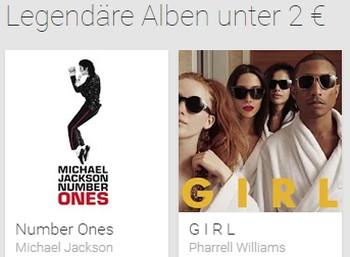 Legendäre Alben für je 1,99 Euro