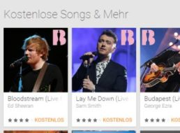 Gratis: Songs bei Google Play zu den Brit Awards 2015