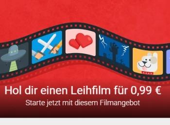 Google Play: Leihfilm für 99 Cent / 1,49 Euro für ausgewählte Kunden