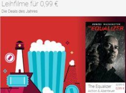 Google Play: Leihfilme für 99 Cent, eBooks ab 99 Cent für wenige Tage