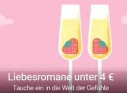 Google Play: Liebesromane als eBook für unter vier Euro
