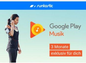 """Gratis: Drei Monate """"Google Play Music"""" für Runtastic-Nutzer"""