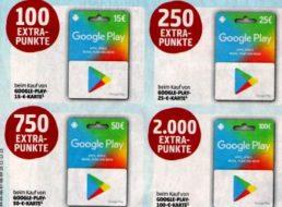 Penny: Bis zu 2000 Paybackpunkte beim Kauf von Google-Play-Karten