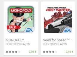 Google Play: 10 Top-Games für jeweils zehn Cent zum Download